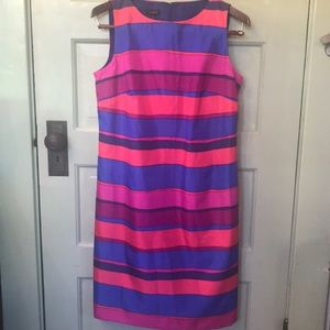 Talbots sleeveless sheath dress